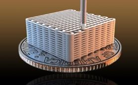 Три технологии в одной: аэрогель из графена, напечатанный на 3D принтере