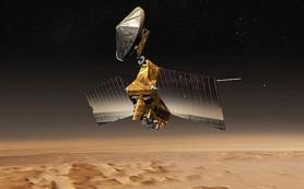 Орбитальная станция НАСА сделала снимок путешествующего марсохода