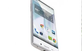 Sharp выпустил смартфон без рамок вокруг дисплея