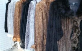 Шубы из вязаной норки: яркие модные тенденции