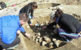 На месте фракийских жертвоприношений нашли кости детей