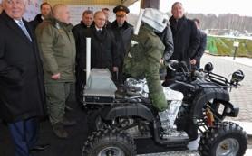 Российского боевого андроида научат бегать к концу года