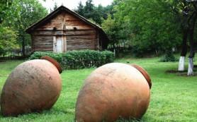 В Грузии обнаружен старинный винный погреб
