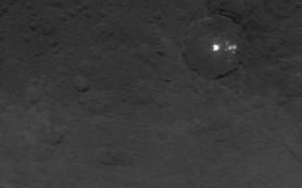 Аппарат Dawn обнаружил «пирамиду» на поверхности Цереры