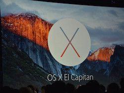 Apple представила операционную систему OS X El Capitan
