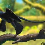 Как из птицы сделать динозавра