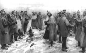 Рождественское чудо в годы Первой мировой войны