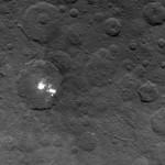 Таинственные яркие пятна на поверхности Цереры могут оказаться туманом