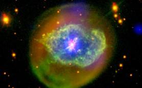 Перерожденная планетарная туманность Абель 78