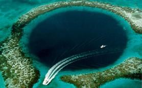Большая синяя дыра открыла причины упадка цивилизации майя