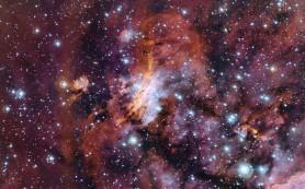 Туманность Гама 56: космический круговорот