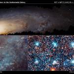 Анализ снимков, сделанных «Хабблом», помогает понять процессы формирования звезд