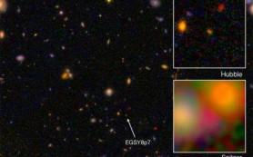Открыта самая далекая на сегодняшний день галактика Вселенной