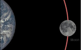 Земное притяжение «массажирует» Луну