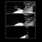 На поверхности кометы 67P обнаружен 12-часовой цикл водяного льда