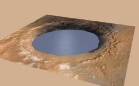 На древнем Марсе долго существовали озера, сообщается в новой работе