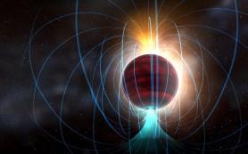 Холодная, тусклая звезда оказалась мощным магнитом