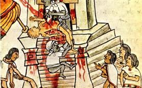 Как индейцы принесли в жертву отряд конкистадоров