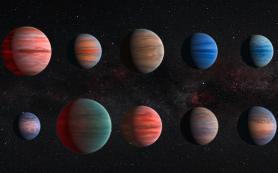 Экзопланеты типа супер-Юпитер «скрывают» воду за туманной атмосферой