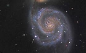 Астрономы запечатлели отходящие в космос оболочки сверхновой