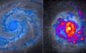 Ученые раскрывают тайну «комковатости» галактик с интенсивным звездообразованием