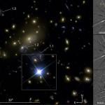 Астрономы наблюдают сверхновую, четырежды увеличенную гравитационной линзой