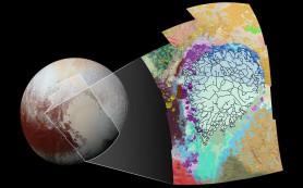 Геология Плутона нанесена на карту
