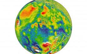 Разработана подробная карта гравитационного поля Марса
