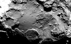 Меняющая цвет комета