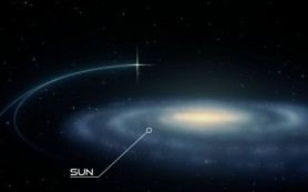 В нашей галактике впервые обнаружена сверхскоростная двойная звезда