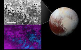 На поверхности Плутона обнаружены таинственные кратеры, окруженные «ореолами»