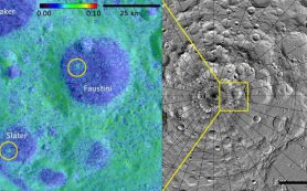 Ученые обнаруживают новые лунные кратеры