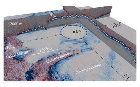 Обнаружены следы ледникового периода на Марсе