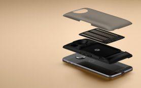 Motorola представила смартфон Moto Z с дополнительными модулями