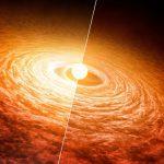 «Прожорливая» звезда может дать ключи к пониманию процессов формирования планет