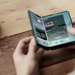 Samsung может выпустить смартфон со складным экраном в 2017 году