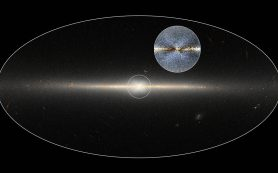 В центре Млечного пути действительно находится образование в форме буквы X