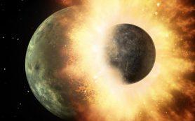 Содержание углерода в мантии Земли указывает на планетное столкновение