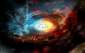 Черная дыра скрывается за собственными «выбросами»