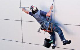 Помощь промышленных альпинистов