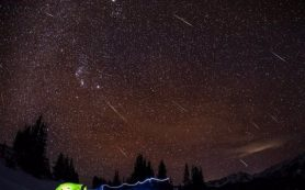 В октябре Россияне смогут наблюдать два метеоритных дождя.
