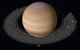 Ученые предлагают новую модель происхождения колец Сатурна