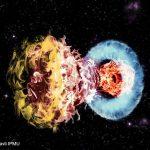 Мощное столкновение сверхновой с окружающим газом породило сверхяркую сверхновую