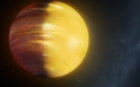 Мощные ветра несут рубины и сапфиры по небу на гигантской экзопланете