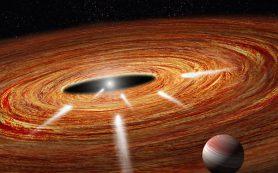 «Хаббл» обнаруживает «экзокометы», падающие на молодую звезду