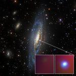 Космическая обсерватория NuSTAR помогает разгадать тайну «сверхновой-хамелеона»