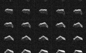 Мимо Земли прошел астероид, напоминающий ограненный драгоценный камень