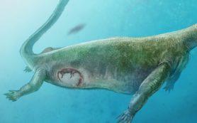 Древний родственник динозавров был живородящим