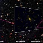 «Типичная» далекая галактика позволяет глубже понять Эпоху реионизации Вселенной