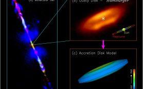 Впервые получен снимок аккреционного диска, окружающего молодую звезду